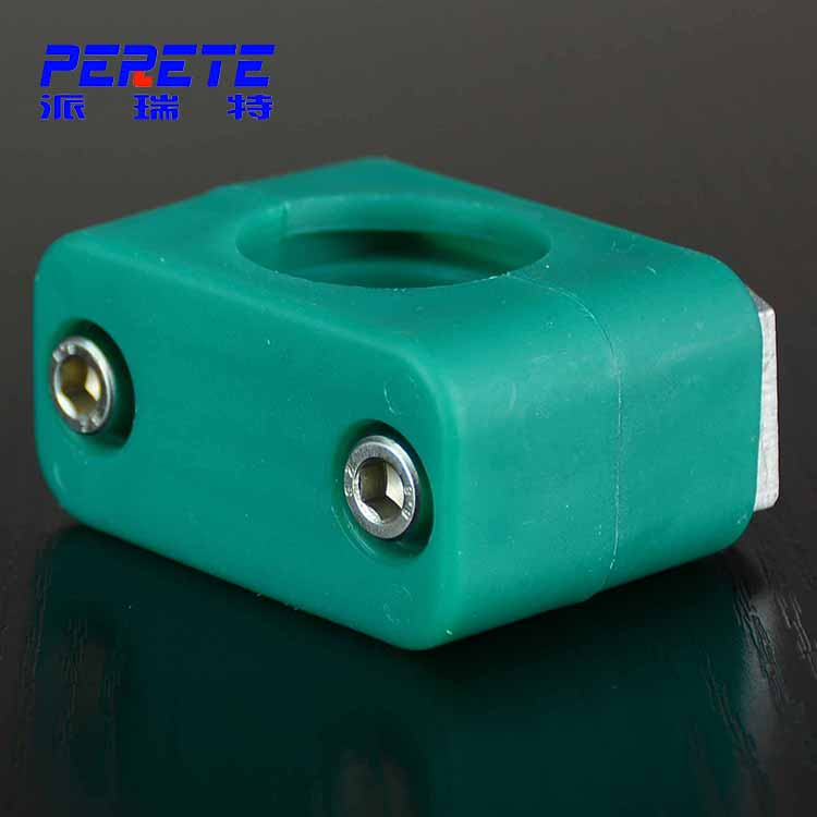 Light Hexagon Bolt Hydraulic Plastic Pipe Clamp